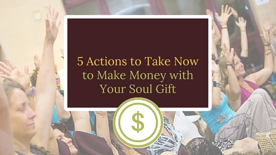 5 Action Steps for Sensitive People to Create a Lucrative Biz from their Gifts